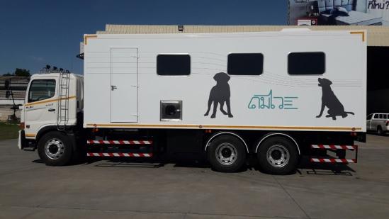 CHO สร้าง DOMVVI-Mobile Truck (คันแรกของไทย)