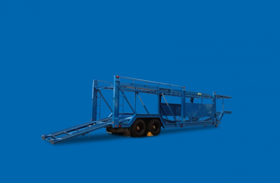 Car Carrier Semi-Trailer