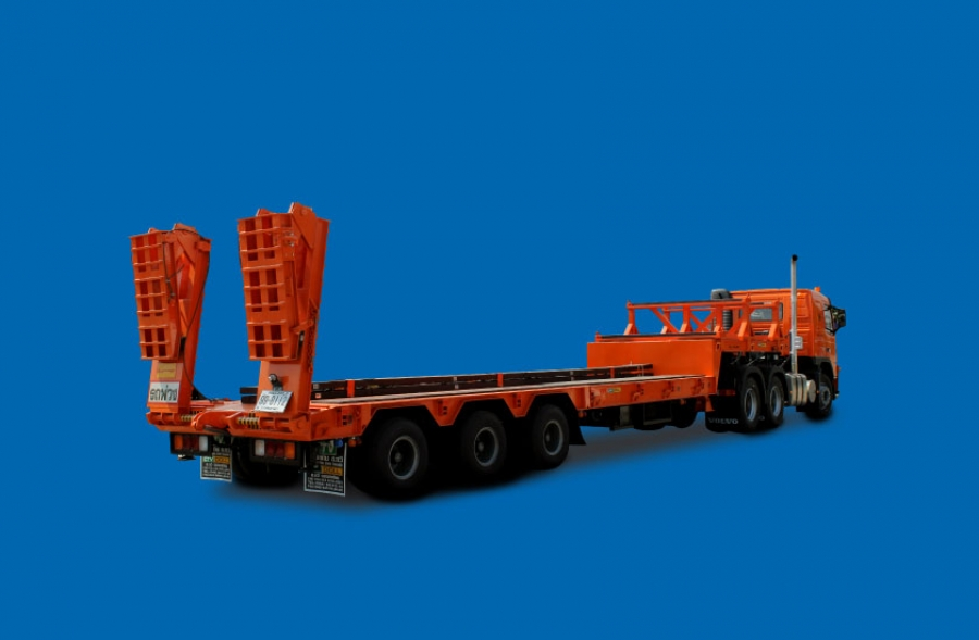 Semi Trailer 3 Axles